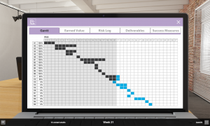 image of Gantt graph