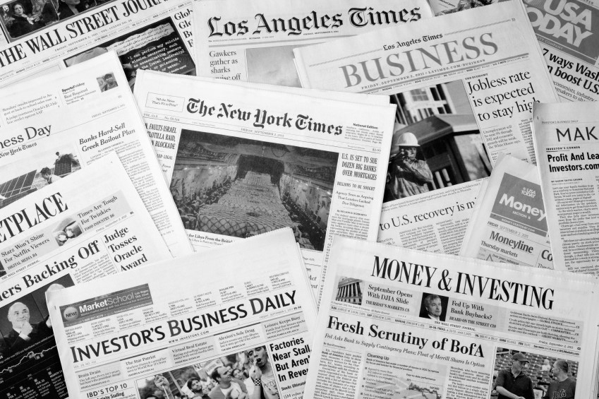 spread of news papers